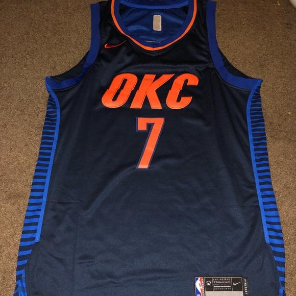 size 40 11455 e741d Carmelo Anthony size 52 Nike OKC Jersey NWT